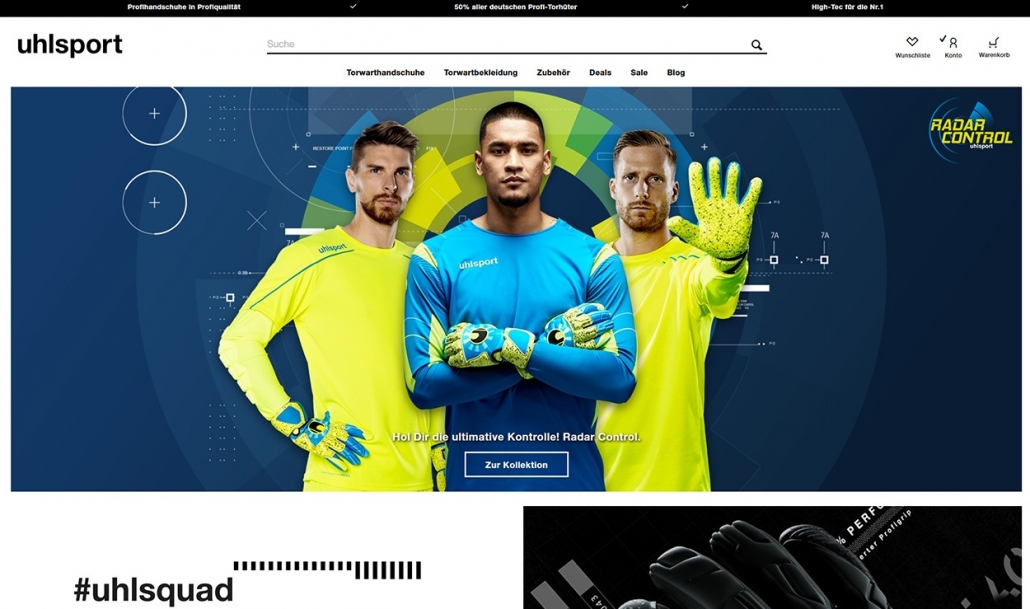 uhlsport Torwartshop