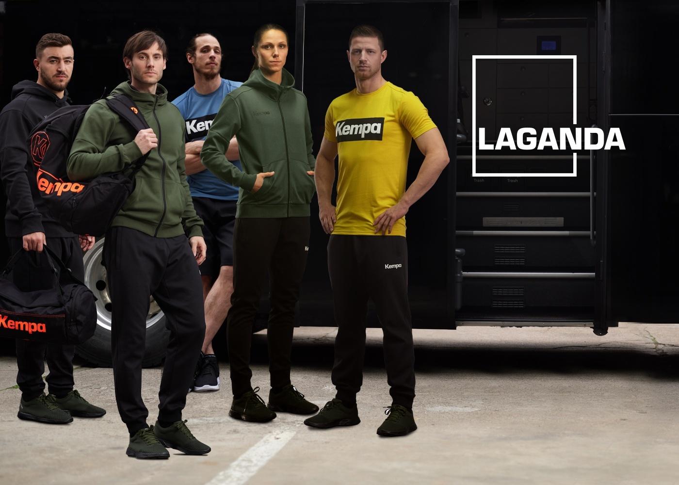 LAGANDA Freizeitkollektion von Kempa zum Handball EM 2020